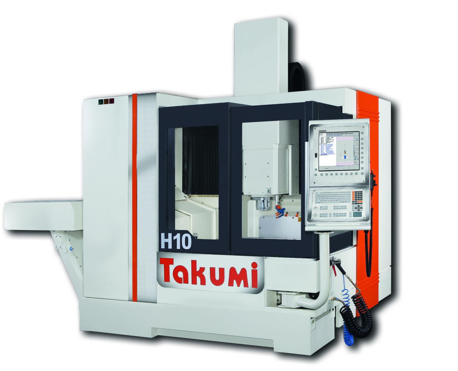 Takumi H10: 3-axis-Maching Center with  Heidenhain-Control