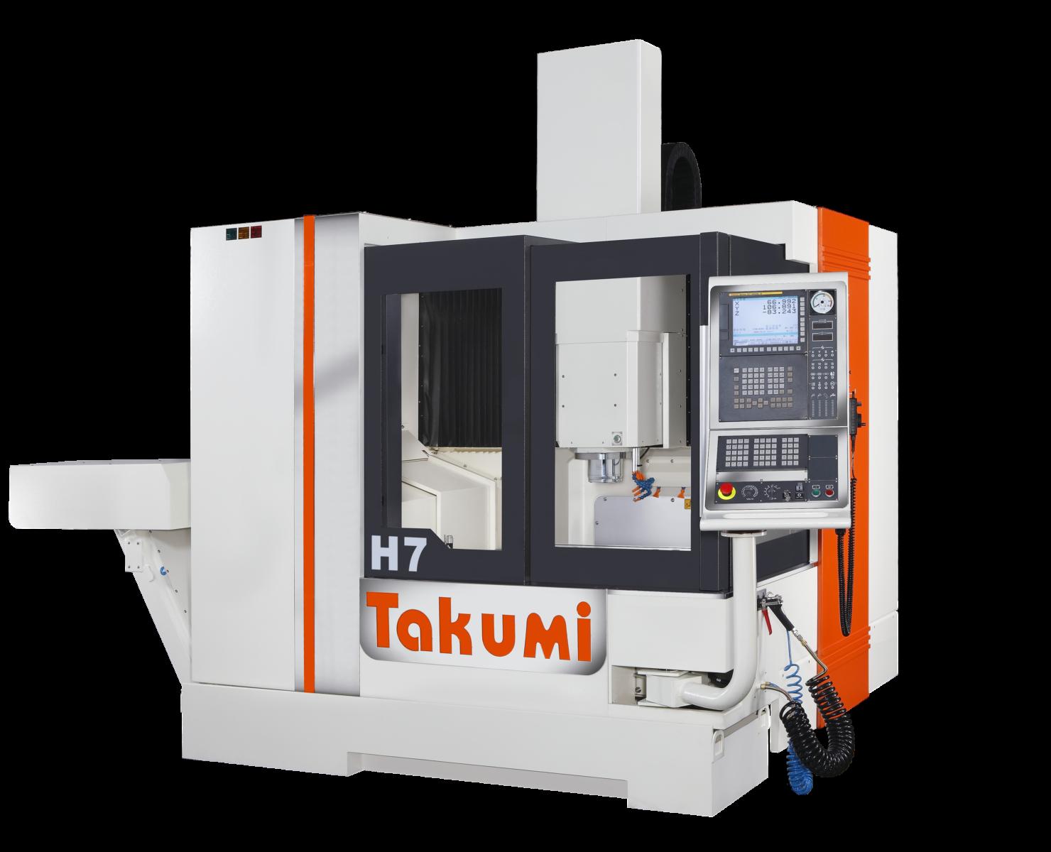 Takumi H7: 3-osé obráběcí centrum se systémem Heidenhain Control for Die & Mold.